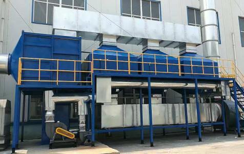 工厂RTO活性炭催化燃烧废气设备
